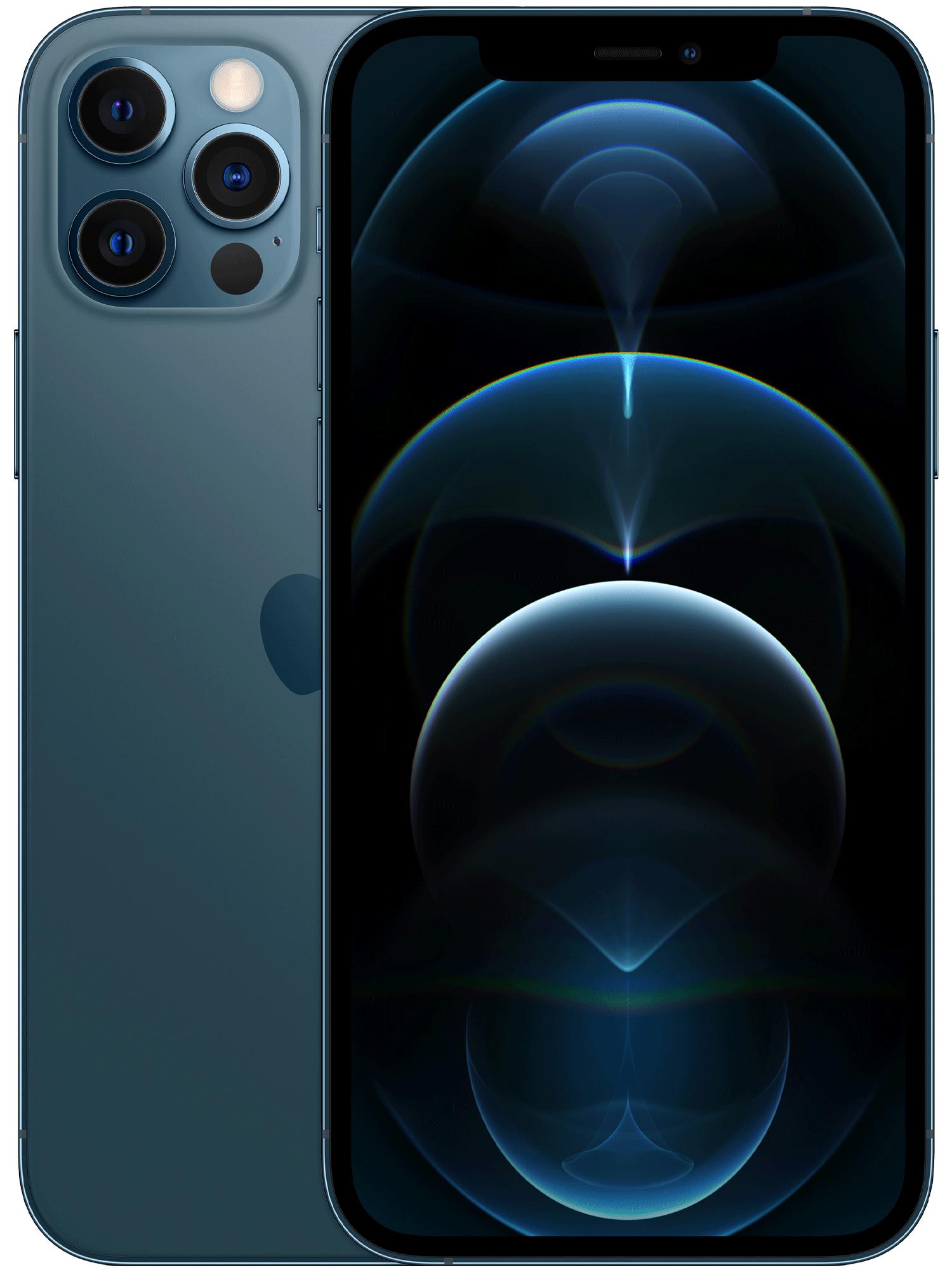Iphone 12 pro blå
