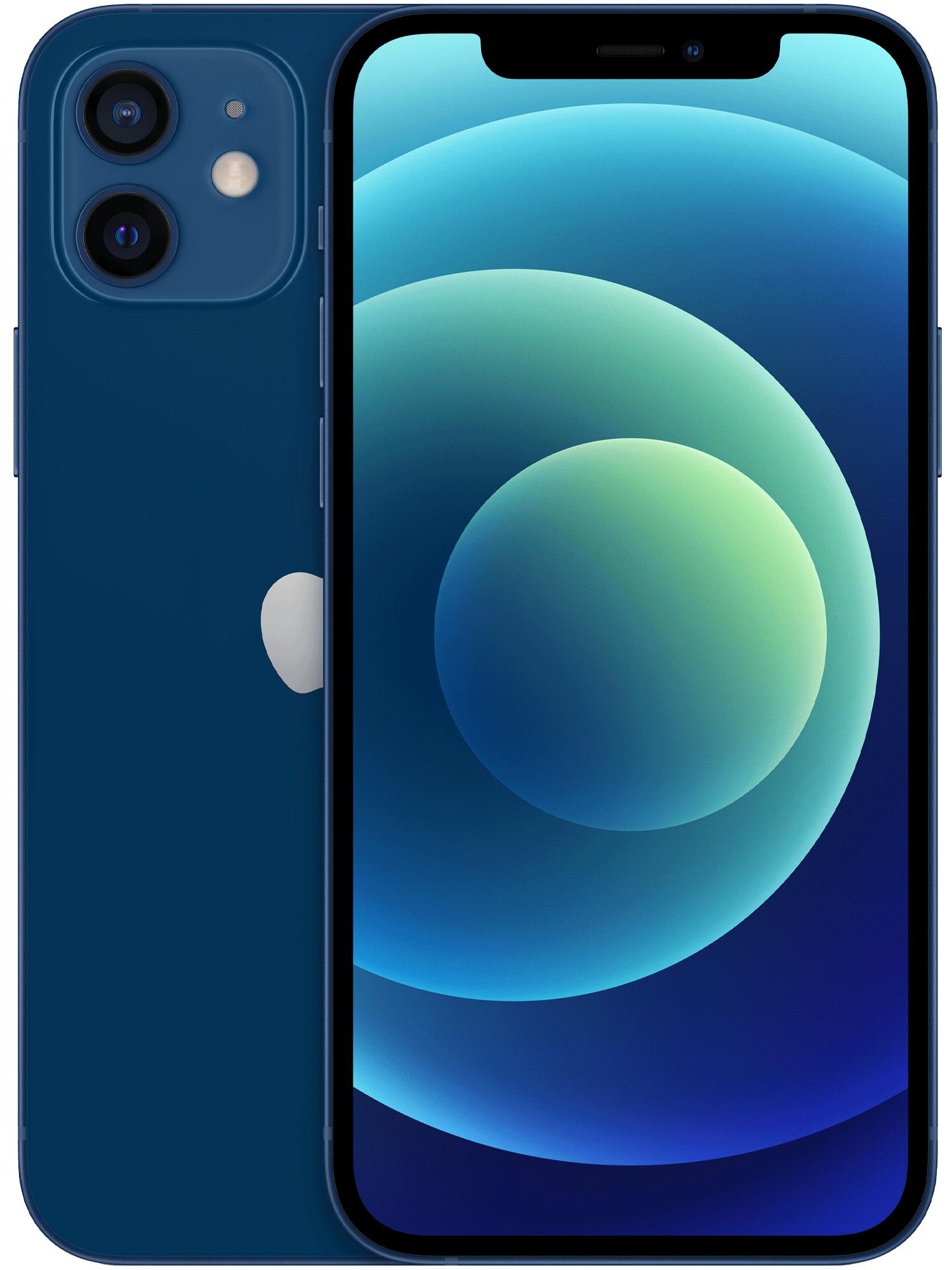 Iphone 12 blå