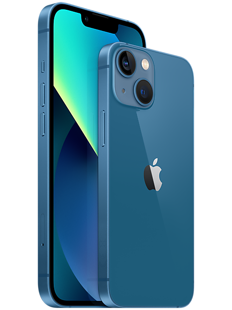 Iphone 13 blå
